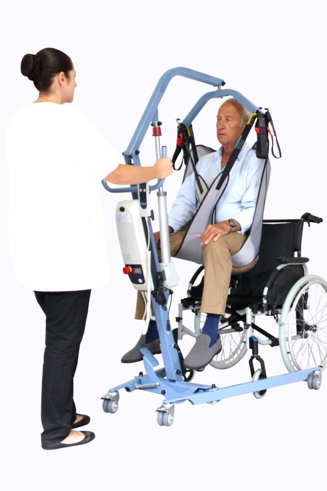 BLUE FLYER COMPACT WITH MECHANICAL OPENING LEGS-1